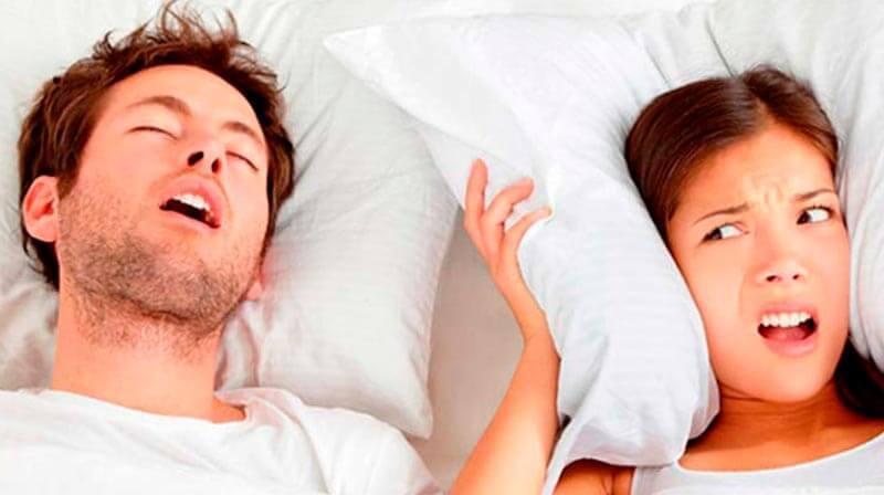 Resultado de imagen para Â¿Te molesta que tu pareja ronque?